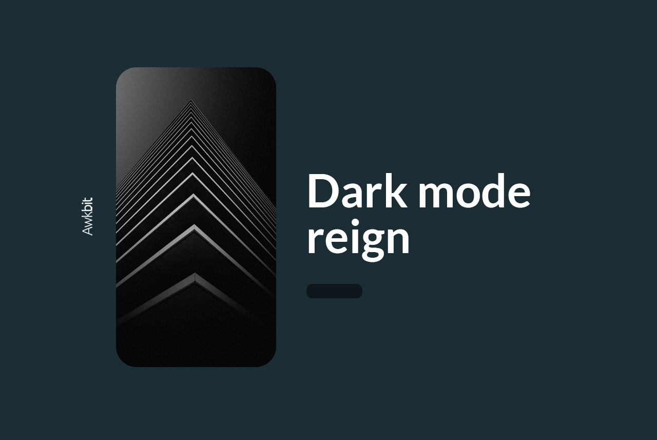 Dark mode/Light mode: a must-have feature for apps in 2021