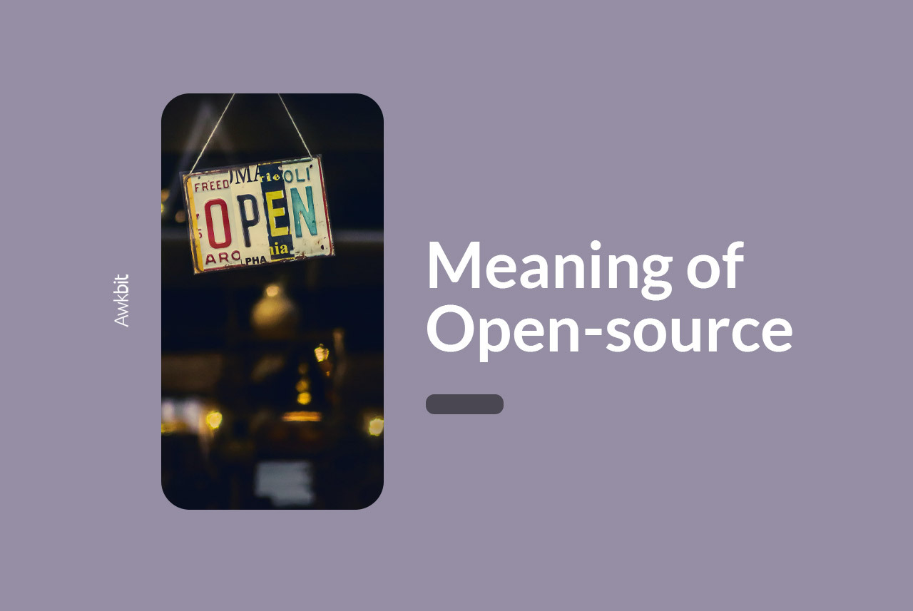 Open source: what does it really mean?