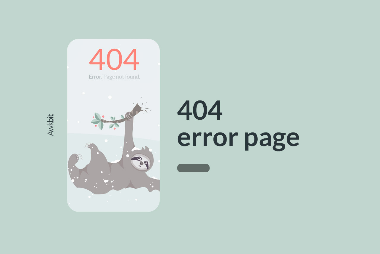 Why not create your 404 error page from a template
