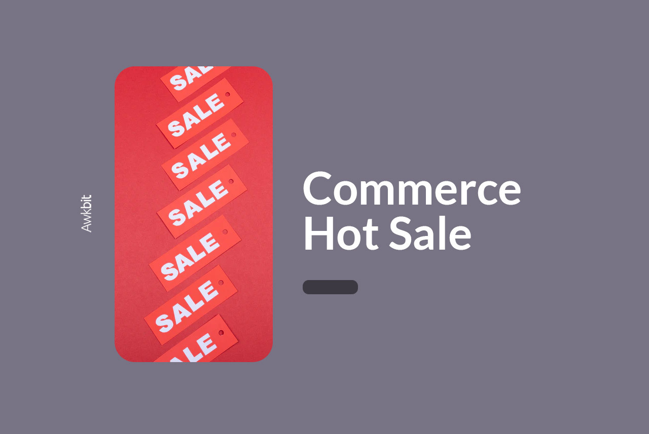 commerce hosting for a hot sale
