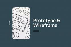 Prototype vs. wireframe